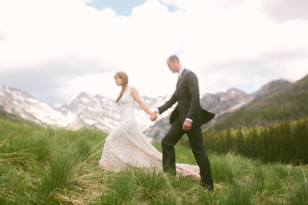 Julia & Christian: A wedding near Vail